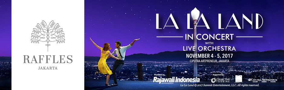 SPECIAL PROMOTION FOR LA LA LAND TICKET HOLDERS